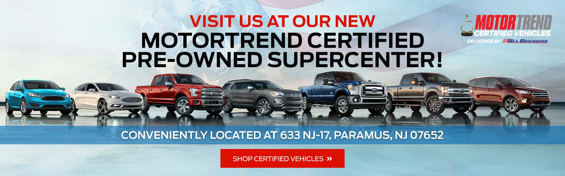 Mahwah Ford Service >> All American Ford Of Paramus Ford Dealership In Paramus Nj
